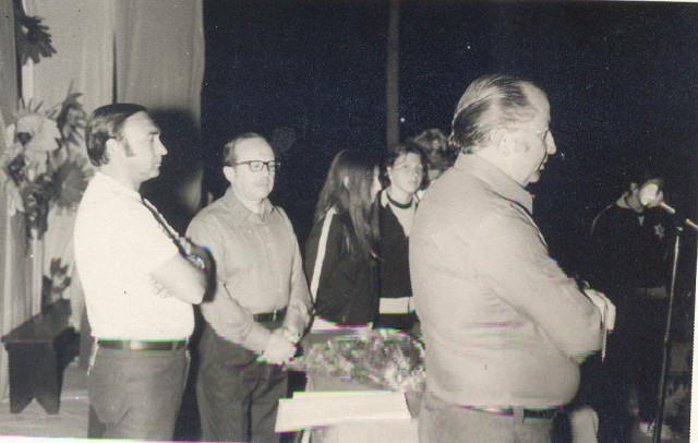 PRESIDENTE, SECRETARIO GENERAL y DIRECTOR EJECUTIVO (1973)