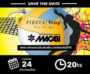 FLYER FIESTA DE VOLEY